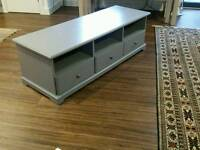 Ikea TV Bench grey color