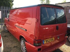Volkswagen transporter t4 2.5 tdi 105000 miles one owner Price drop alloys captain, swivels