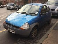 Ford Ka 2004 low mileage car with 12 months MOT