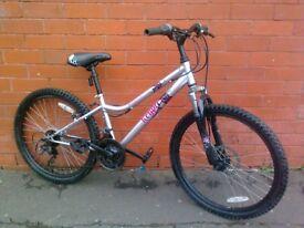 Apollo mountain bike - front suspension .