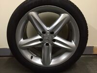 Mercedes SL wheels and tyres