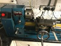 Clarke cl500 metal working lathe