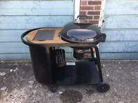Blooma Kinley Charcoal Kettle Trolley Barbecue