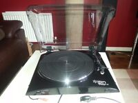 Ion Audio Profile LP Turntble - with preamp, RCA and USB out