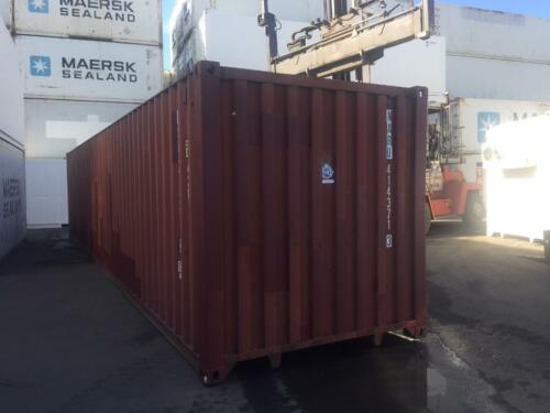 40 Fuss Container Lagercontainer Baucontainer Uberseecontainer In