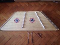 Hammered Dulcimer (Musical Instrument)