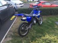 Yamaha dt 125 dtr125 motor cross road legal