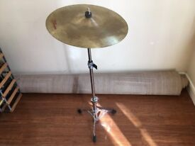 Beginner Cymbal AND Stand - Two Available - Options