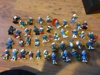 Large collection of smurfs
