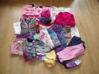 Large bundle of girl's clothes Age 18 months to 2 years