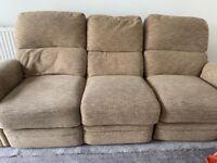Recliner sofa & chair