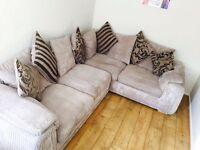 DFS Corner Sofa double Bed