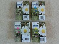 Epson Claria Ink Cartridges - set of four XL