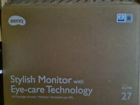 BenQ 27 inch LED gaming monitor
