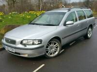2003 53 VOLVO V70 D5 SE 2.4 D ESTATE**AUTOMATIC**AWD/4X4**FULL LEATHER*SUNROOF*H/SEATS*#V50#AUDI