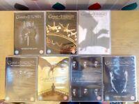 Game of Thrones box set seasons 1 - 7