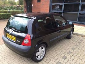 RENAULT CLIO DYNAMIQUE 1.2 LOW MILEAGE UNDER 61K EXCELLENT RUNNER. GOOD SERVICE HISTORY