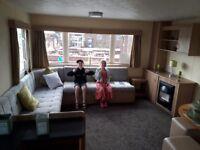 Modern and spacious 3 bedroom caravan to rent at skipsea sands