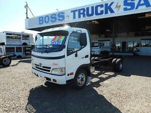 2008 Hino 616 Cab Chassis Rocklea Brisbane South West Preview