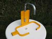 Amtech wheel clamp security lock for car, trailer or caravan, unused
