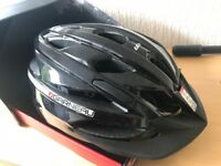 Louis Garneau 'EAGLE' Bicycle Helmet, Black 55-61cm