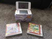 2DS XL Console and Games