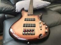 Ibanez SR300e 4 string bass guitar, cleaned, serviced, new strings and neck oiled - wow