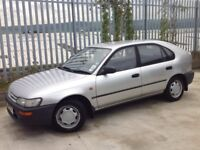 TOYOTA COROLLA 2.0 XLD 5 DOORS HATCH BACK MANUAL DIESEL SILVER