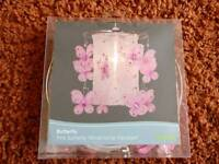 New Pink Butterfly Windchime Pendant Shade