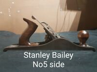 Stanley Bailey wood planes (Set of 3)