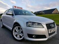 2010 Audi A3 1.6 Tdi Sport Sportback, Only 63,000 MILES! Car As New! Only £20 Road Tax! FINANCE!!