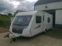 2010 SWIFT CHARISMA 550. 4 BERTH. FIXED DOUBLE BED