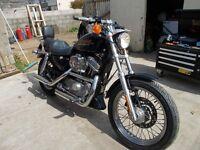 Harley Davidson 883 Sportster for swap, px, trade or sell Swap for fishing boat