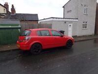 Vauxhall astra 1.7 spare or repair
