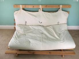 Ikea wooden futon