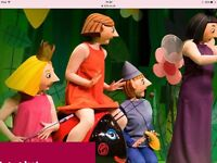 Only avail til Mon 29th March - BEN & HOLLY TICKETS, 4 FRONT ROW DRESS CIRCLE, NOTTM, SUN 2nd APRIL