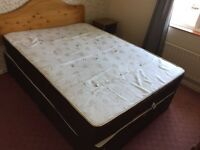 2 x Double Bed with Mattress - Excellent clean condition