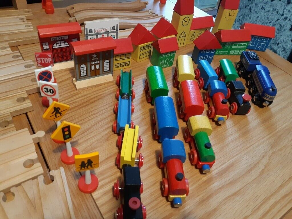 Wooden Train Set Brio Many Accessories In Portsmouth Hampshire Gumtree