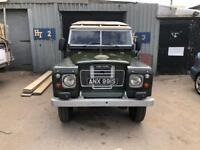 Land Rover series 3 SWB 1978