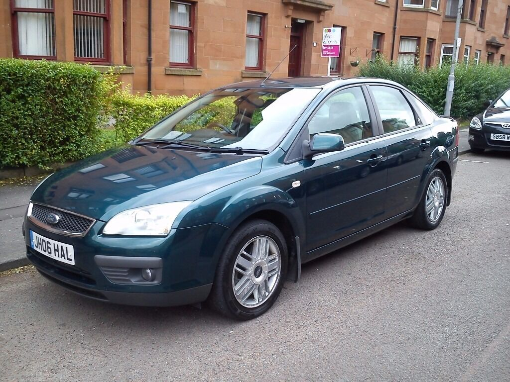 2006 ford focus saloon ghia 1 8 tdci mot june 2017 in southside glasgow gumtree. Black Bedroom Furniture Sets. Home Design Ideas