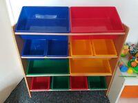 3 tier kids toy box