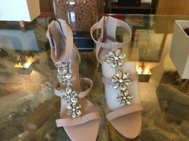 Dune 40 diamanté sandal
