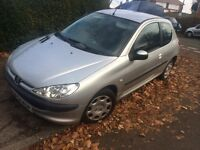 PEUGEOT 206 HDI 1.4 DIESEL £30 TAX UP TO 60 MPG