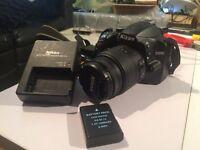 Nikon D3200 DSLR and 18-55mm Kit Lens
