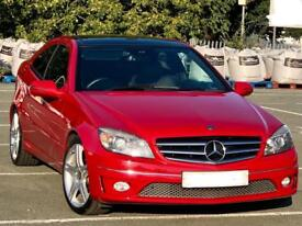 """Mercedes-Benz CLC220 CDI SPORT AUTO 2.1 DIESEL 2009 PAN ROOF FULL HEATED LEATHER PDC 18"""" ALLOYS"""