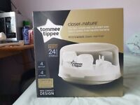 NEW! Tommee Tippee Closer to Nature Microwave Steriliser