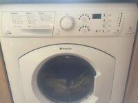 7kg Hotpoint Aquarius washing machine and dryer