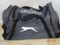 Black & Grey Slazenger Sport Bag