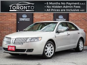2010 Lincoln MKZ Leather+Sunroof+Heated Seats+Premium pkg