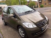 2009 MERCEDES A150, PETROL, LONG MOT, LOW MILEAGE - 62K MILES.